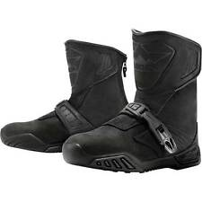 Icon Raiden Treadwell Adventure Touring Waterproof Motorcycle Motorbike Boots