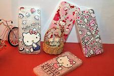 New Adorable Hello Kitty Clear Soft Transparent Protector/Case for Iphone5/5S/SE