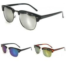 New Mens Womens Vintage Retro UV400 Designer Fashion Metal Sunglasses SE45