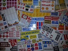 ●● Custom Lego Sticker Stickers - vintage sets ( Legoland & Town - Building ) ●●