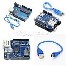 UNO R3 Board + Ethernet Shield W5100 SD Slot Expansion Board For Arduino