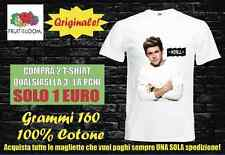 T-shirt maglietta fruit one direction zayn liam niall harry gruppo musicale 04