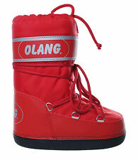 Doposci unisex Olang Crystal moon boot neve montagna gomma rosso