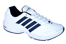 COLUMBUS BRAND MENS ALCOTT WHITE CASUAL LACE SPORTS SHOES