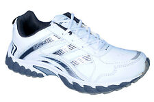 COLUMBUS BRAND MENS HL-03 WHITE CASUAL LACE SPORTS SHOES