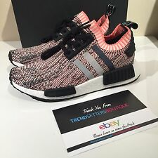 ADIDAS NMD R1 PK W SALMON PINK GLITCH US UK 3 4 5 6 7 8 9 BB2361 WOMENS TRI RAW