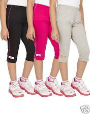 OCEAN RACE Girls Stylish Cotton Capri Combos-(3/4 Th Pant)-Pack of 3