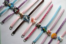 SHOE CHARM BRACELETS (T) - inspired by SIMPSONS, SCOOBY, TOM & JERRY, BUGS BUNNY