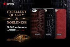 Comma CROCO2 Crocodile Pattern Leather Back Cover Case For Apple iPhone 7