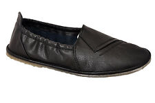 LEE FOX BRAND MENS CASUAL BLACK LOAFERS SLIPONS SHOES - SSS  size 11, 12, 13