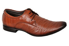 TUSCANY BRAND ORIGINAL LEATHER MENS BROWN LACE SHOES 25010