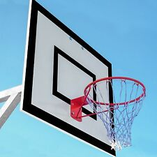 Basketball Hoop - Optional Net - Available in Single or Pairs [Net World Sports]