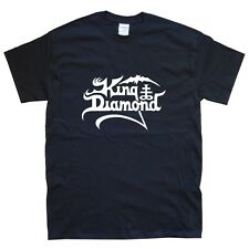 King Diamante Camiseta Tallas S M L Xl Xxl Colores Negro, blanco