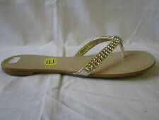 "Damas Spot On Sandalia Oro "" f0278"""
