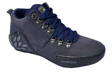 WOODLAND ORIGINAL MENS 1869115 NAVY ADVENTURE CASUAL LACED FLAT SHOES