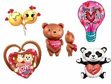 Valentines Day Fun Novelty Party Decoration Assorted Giant Foil Balloons