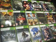 XBOX 360 GAMES Select from - BUNDLE JOBLOT of RARE / COLLECTABLE original - pt 2