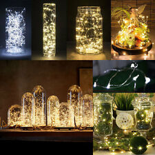 20/50/100 LED String Fairy Light Battery USB Operated Xmas Wedding Party Decor