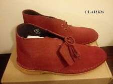 CLARKS Originals Desert Boot Cherry Suede Women's Desert Boots UK 5 RRP £100