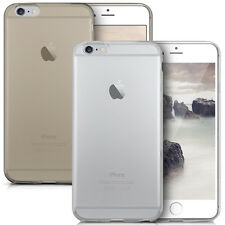 Ultra Sottile Trasparente/Grigio Custodia In Silicone Gel Cover per iPhone Apple