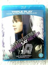 27167 Blu-ray - Justin Bieber Never Say Never [NEW & SEALED]  2011  BSP 2253