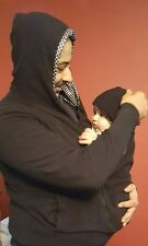 Snuggle Jumper Mother & Baby 2 in 1  Hoodie Baby Shower Gift Maternity Pregnancy
