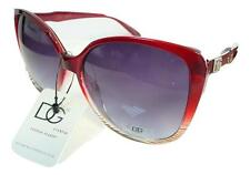 New D.G Eyewear Womens Ladies Designer  Retro Red Sunglasses UV400  896V