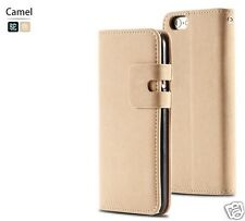 Case For Apple iPhone 5 5S Suede Leather Flip Magnetic Cover