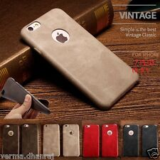 """*NEW SOFT PU LEATHER* Ultra Thin Back Cover Case for Apple iPhone 7 PLUS (5.5"""")"""