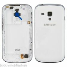 SAMSUNG GALAXY S DUOS S7562 FULL BODY HOUSING COVER WITH BACK PANELWhite & BLACK