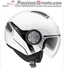 Helmet Givi air jet white scooter moto maxi scooter helm casque with sun visor
