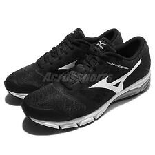 Mizuno Synchro MD 2 Black White Men Running Shoes Sneakers Trainers J1GE1718-02