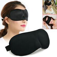 1x 2x 3x 5x 3D Soft Padded Blindfold Eye Mask Travel Rest Sleep Aid Shade Cover