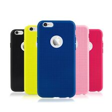 Breathable Weave Mesh  Soft Silicone Case for Iphone 5/5S/6/6S/6plus/6S plus