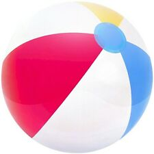"Beach Ball inflatable for swimming pool swim 16"", 20"" and 24"""