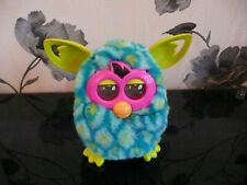 HASBRO OFFICIAL NEW GEN FURBY BOOM INTERACTIVE PEACOCK LIGHTNING ORANGE STARS