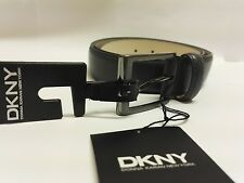 """Genuine DKNY Men Embossed Leather Belt (Colours Available) Size 38"""" / 95 cm NEW"""