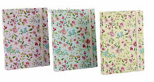 Vintage Ditsy Floral Rose Notebook Chic Shabby Lined Journal Notepad Jotter Pad