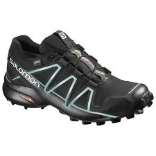 zapatos TRAIL RUNNING Mujer SALOMON SPEEDCROSS 4 GTX W Black Black