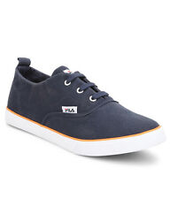 Fila Brand Mens Original Benino Navy Casual Sneakers Laced Shoes