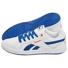 Kids/Junior Reebok Royal Advance White/Blue Classic,Casual Trainers Girls/Boys