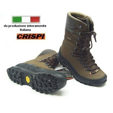 Scarponi Crispi Legend Hunter GTX Forest in nabuk marrone