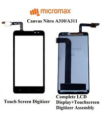 Original Micromax Canvas Nitro A311/A310 Touch Screen Digitizer Replacement