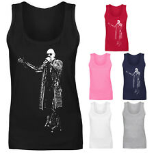Womens Rob Halford Judas Priest Heavy Metal Rock Icon Vest Tank Top NEW UK 8-18
