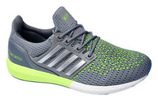 Calcetto Brand Mens Grey Green Sports Shoes 7501