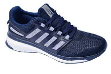 Calcetto Brand Mens Navy White Sports Shoes 7511