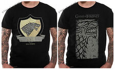 Game Of Thrones Stark Coat Of Arms Direwolf T Shirt OFFICIAL Winter Is Coming
