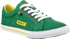 Sparx Brand Mens Green Yellow Casual Canvas Sneakers Shoes SM273