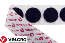 VELCRO® Brand Self Adhesive 13mm Coins Discs Dots Hook & Loop in Black & White