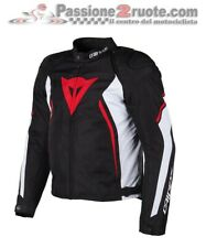 Jacket moto Dainese Avro D2 Tex black white red